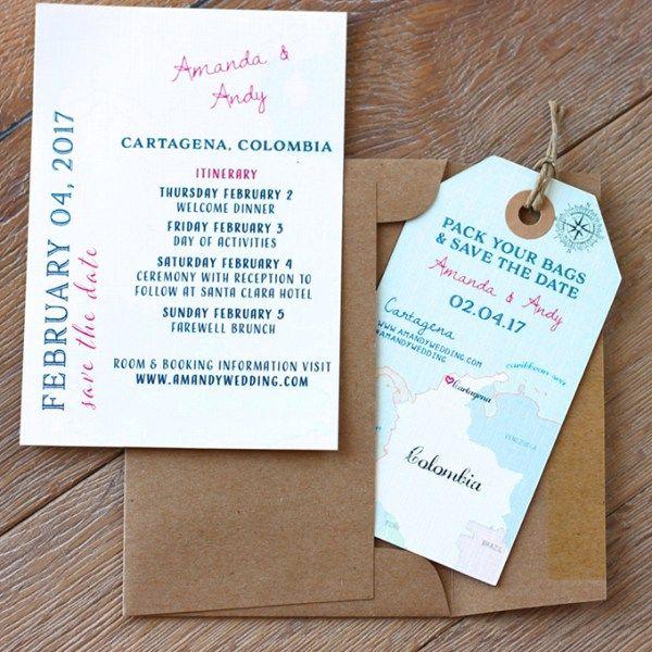 the 25+ best destination wedding invitations ideas on pinterest, Wedding invitations