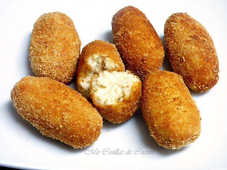 Croquetas de pollo - Mis Cosillas de Cocina