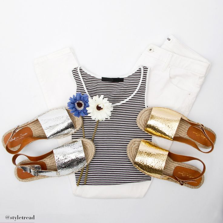 This week at Styletread we're loving the 'Maori' metallic espadrille by Sofia Cruz! These metallic espadrilles add an instant wow factor to a casual look! SHOP Silver > http://www.styletread.com.au/maori-silver-crackle.html   SHOP Gold > http://www.styletread.com.au/maori-gold-crackle.html