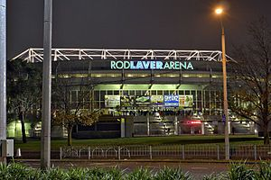 Google Image Result for http://upload.wikimedia.org/wikipedia/commons/thumb/3/3d/Rod_laver_arena_by_night.jpg/300px-Rod_laver_arena_by_night.jpg