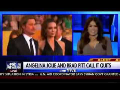 Brad Pitt & Angelina Jolie Divorce: The Five Fox News 9/20/16