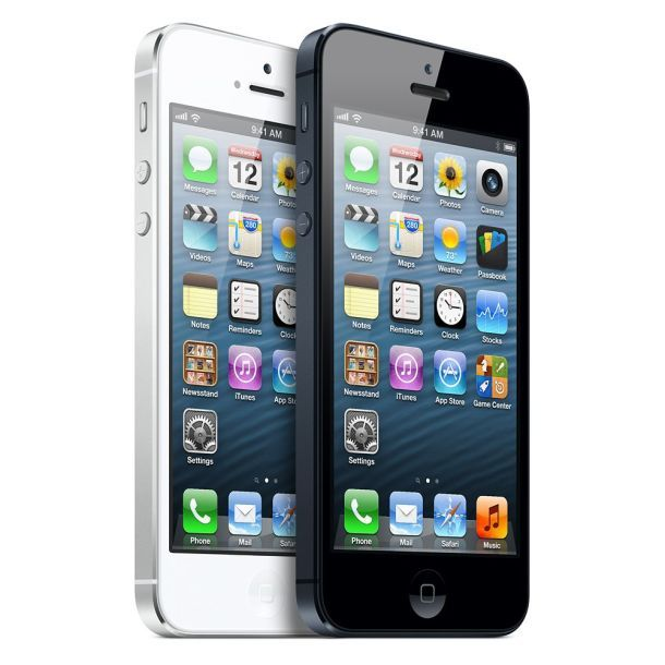 iPhone 5 pushes Apple to No. 2 spot among U.S. phone makers