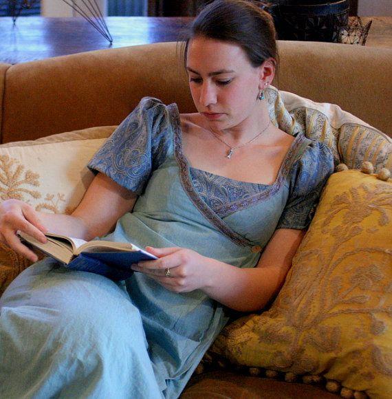 Jane Austen Frock by RanunculusMarket on Etsy