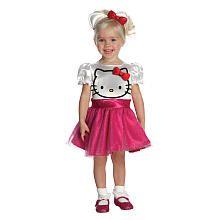 Hello Kitty Halloween Costume - Toddler Size
