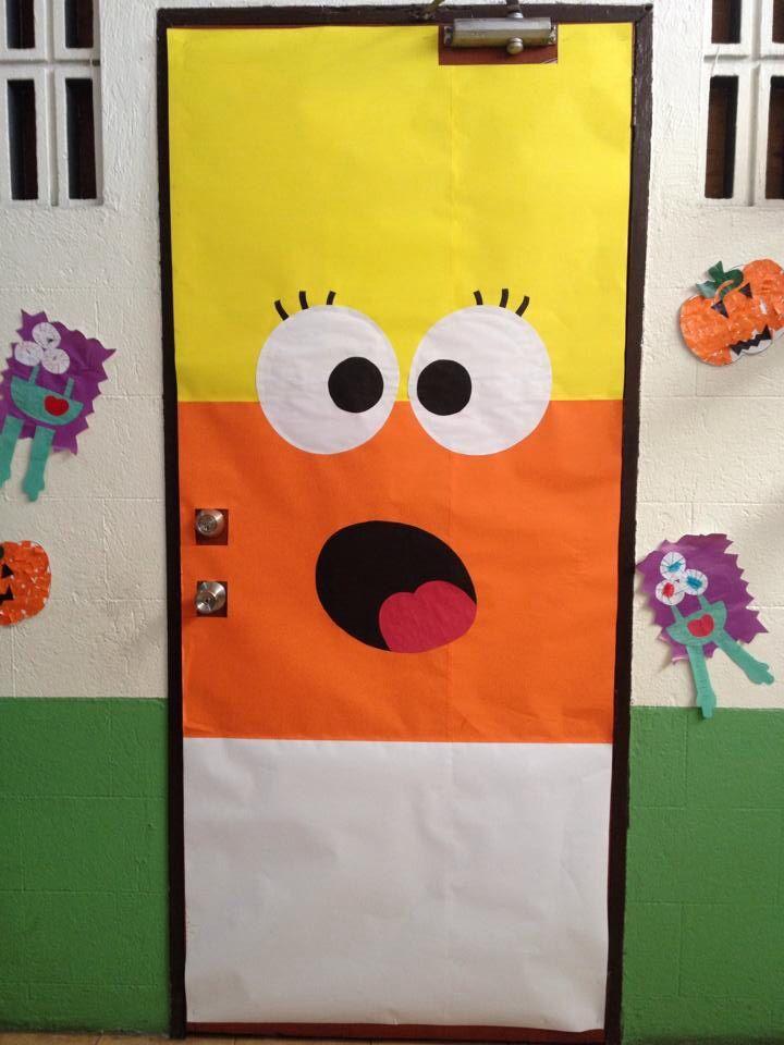 Candy Corn Door