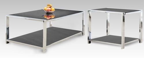 2 PC Generation Trade Ultra Modern Bentley Collection Coffee Table & End Table Set 711115
