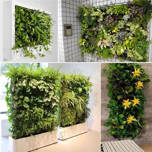 36 Pocket outdoor Vertical Greening Hanging Wall Garden Plant Bags Wall Planter