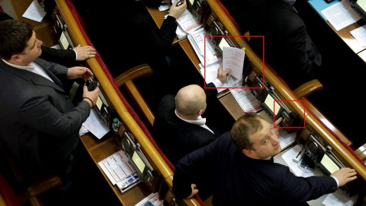 On 9 February 2017, the Ukrainian anti-corruption watchdog Chesno recorded five instances of MPs casting multiple votes through parliament's electronic voting system, marking 161 documented cases of such fraud since the organization began keeping count in December 2014.  Knopkodavstvo, or button pushing, as the tactic is known, has plagued voting in Ukraine's parliament for years. Knopkodavstvo  violates the constitution, which mandates that deputies vote in person. Knopkodavstvo is…