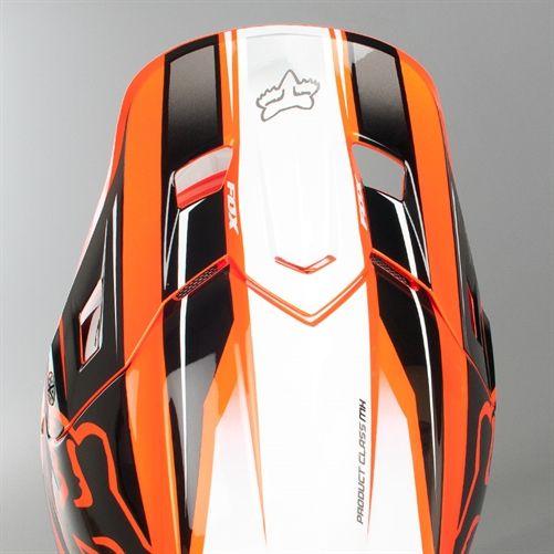 Crosshelm Fox V2 Race Orange - Schnelle Lieferung - 24MX