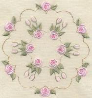 Bullion Rose Quilt 1
