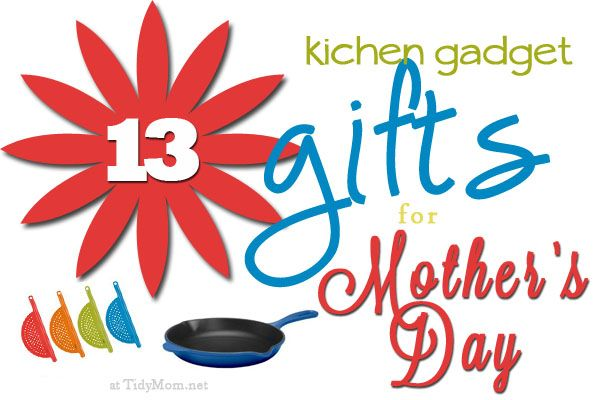 13 Kitchen Gadget Mother's Day Gifts via @Cheryl Tidymom: Gift Guide, Gifts Gifts, Homemaking Ideas, Gadgets Kitchen Inspiration, 13 Gift, Gift Ideas Products, Gadget Ideas, Gifts Great, Christmas Gifts