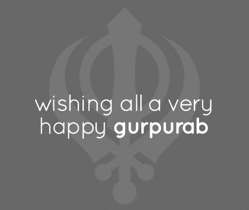 Guru is Aspiration. Guru is Inspiration. Wishing you all a very #HappyGurpurab :)