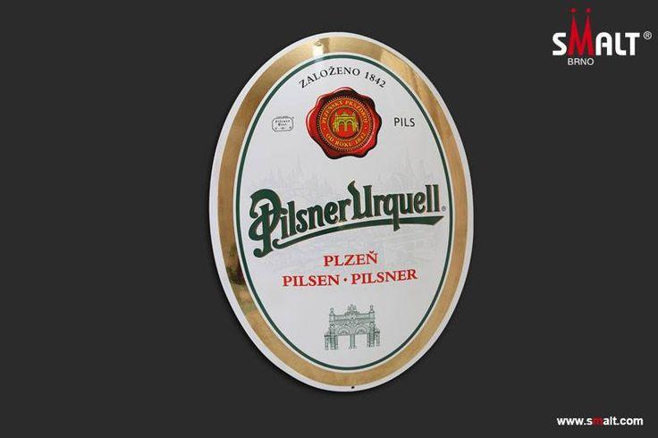 Pilsner Urquell - porcelain enamel sign