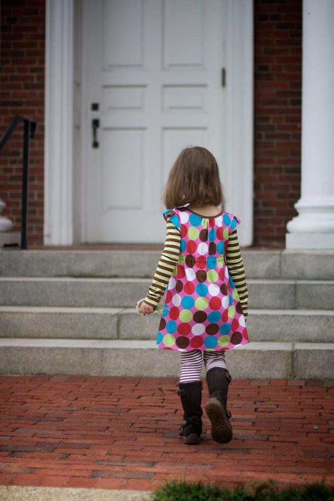 Cute dress for school