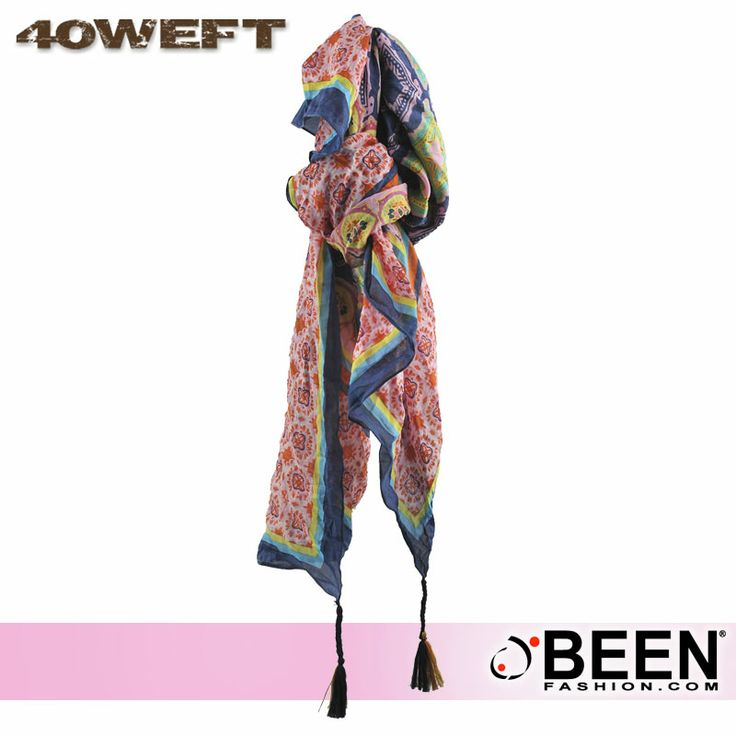 L'accessorio che non può mancare nel tuo guardaroba è firmato #40WEFT! Scegli il colore più adatto al tuo stile e acquista su #BeenFashion! http://www.beenfashion.com/it/40weft-sciarpa-stampata.html?utm_source=pinterest.com&utm_medium=post&utm_content=40weft-sciarpa-stampata&utm_campaign=post-prodotto