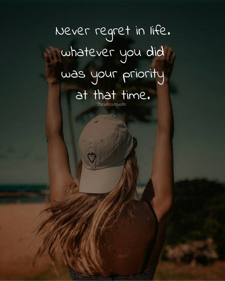 Never regret in life. whatever you did was your priority at that time. Author (@mansi_sharma018) #thelatestquote #quotes #regret #lifequotes #priority #priorities #life by theltestquote