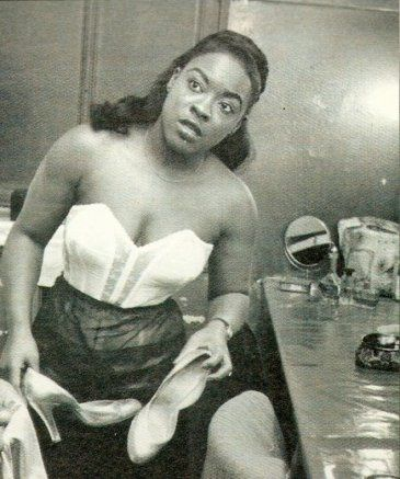 LaVern Baker (1960) // The first Black artist to file a legal grievance against white artists who produced pop covers of her hits. Most of the 'white' popular music was stolen from the African Americans and produced to cater to whites. The original artists couldn't do a thing about it.