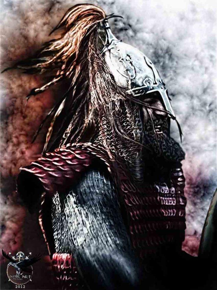 Viking Warrior   Viking warrior Smiley Rus