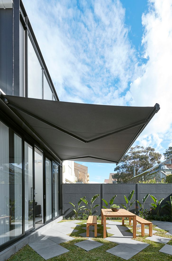 Have Your Outdoor Awning Your Way In 2020 Outdoor Awnings Outdoor Blinds Roof Design