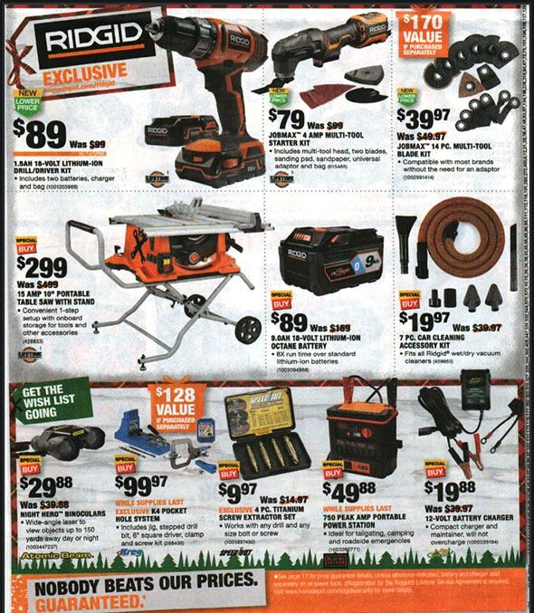 Home Depot Black Friday 2018 Tool Deals Page 10 Home Depot Coupons Black Friday Depot