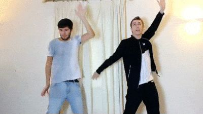 Simon and Josh This will always be my most favourite gif ever.