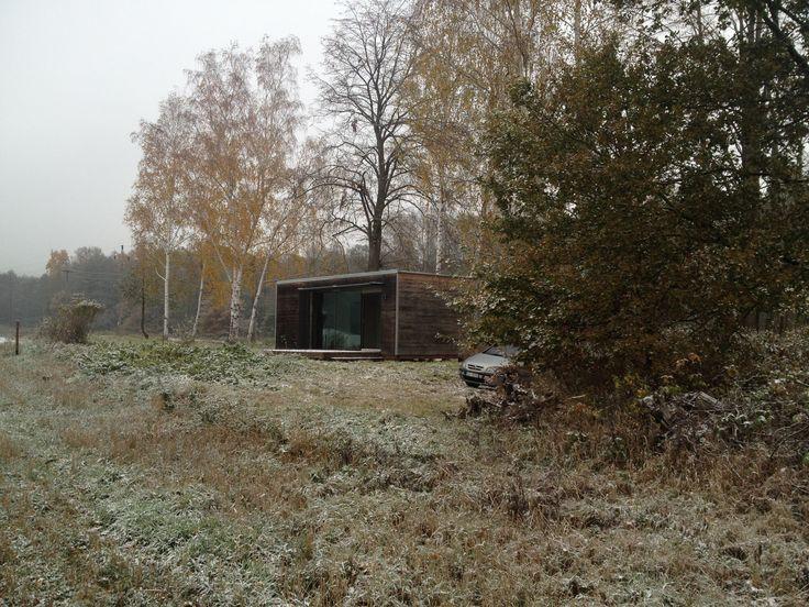 Modulární dům - osazení do krajiny
