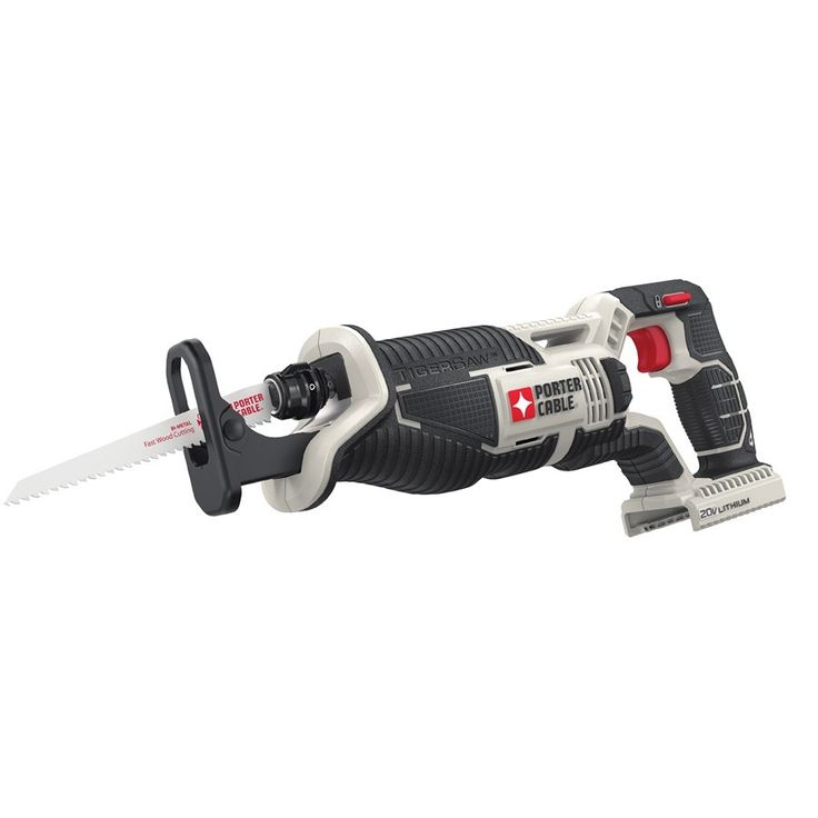 PORTER-CABLE 20-Volt Variable Speed Cordless Reciprocating Saw (Bare Tool)