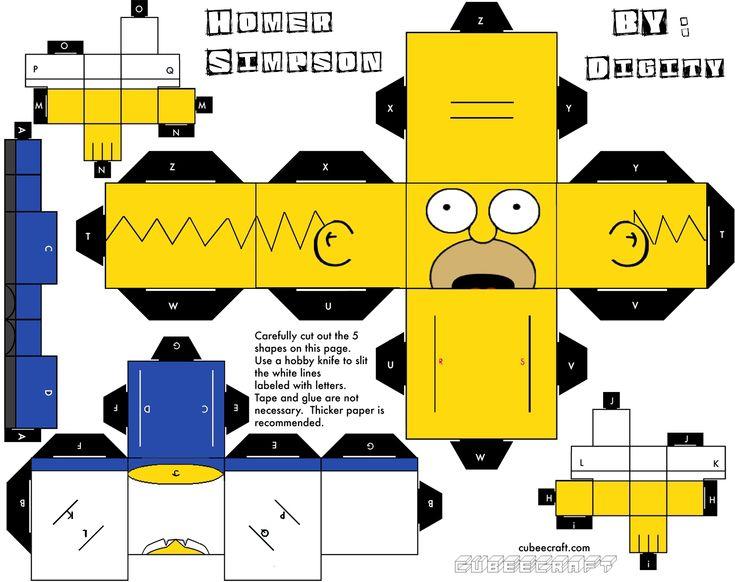 Cubeecraft, muñecos de papel fáciles de armar! + Yapa