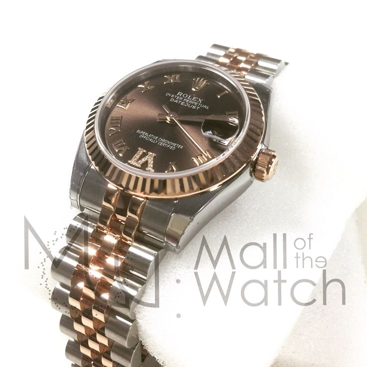 178271 #rolex #choco #diamonds #rosegold #midsize #luxurywatch