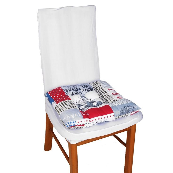 Family Decor Cotton Blends Cover Back Support Chair Cushion Multicolor 40 x 40cm, Outdoor Cushion