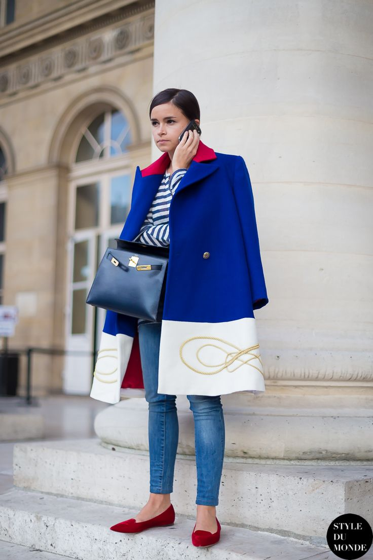 oversized coat with casual outfit