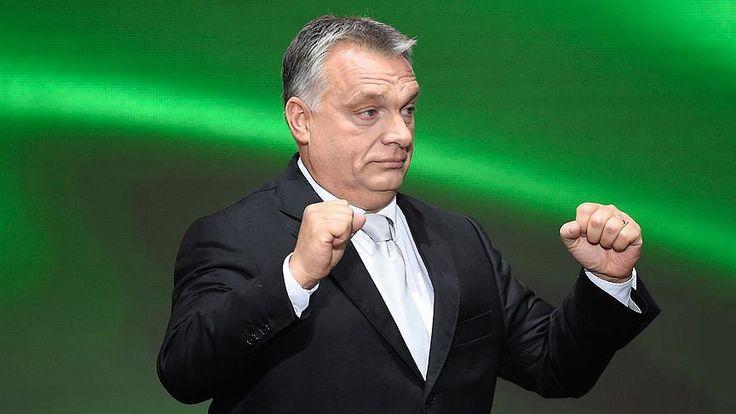 """Macaristan Başbakanı Orban, milyonlarca sığınmacı ve göçmenin Avrupa'yı istila ettiğini savunarak, """"Güvenli, adil, sivil, Hristiyan ve özgür Avrupa istiyoruz."""" dedi."""
