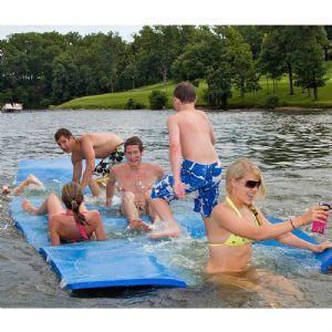 WaterMat Original Floating Mat for $899 #WaterTrampolines #CozyDays