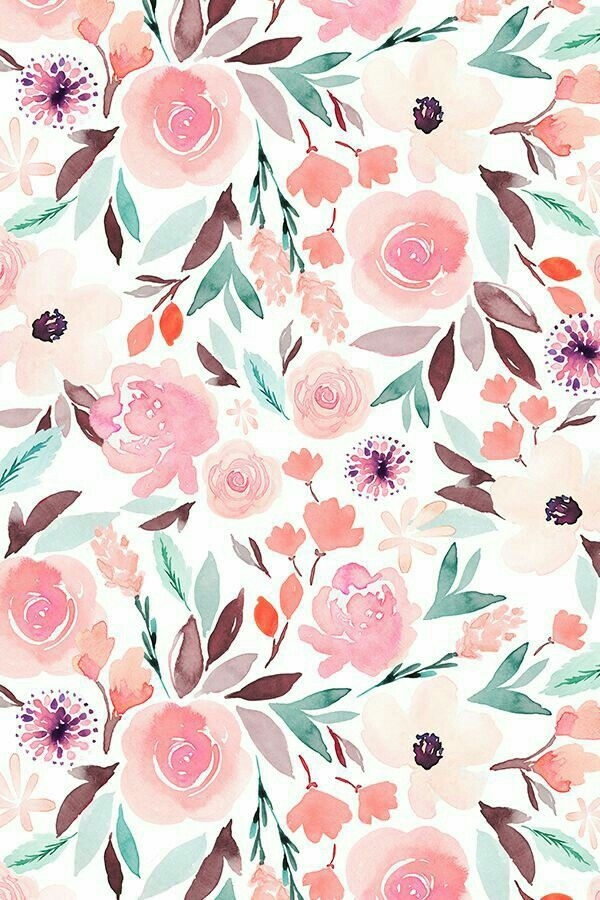 Pin By Catherine On Modern Calligraphy Floral Wallpaper Iphone