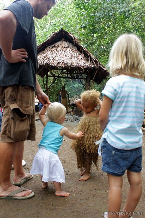 Alida in a Vanuatu Village  I really want my kids to experience this 3>