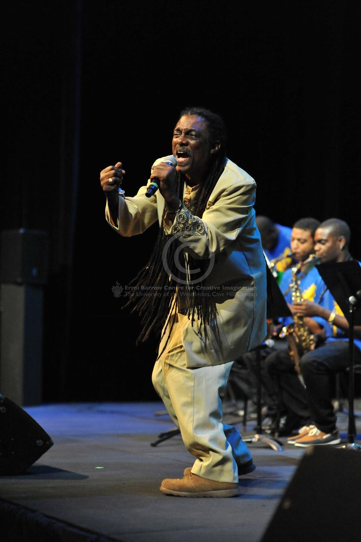 Calypsonian, singer, songwriter, Dr.Anthony 'MightyGabby ...