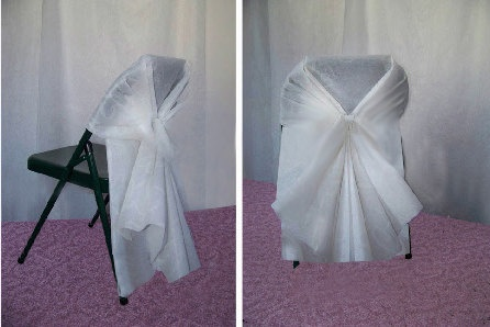 25 Folding Chair Covers by MeganElizabethShop on Etsy, $60.00
