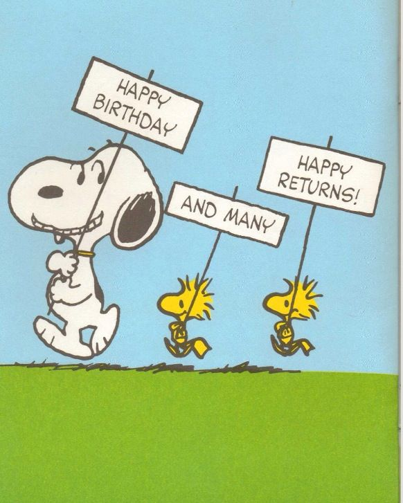87 Best Snoopy Birthday Images On Pinterest