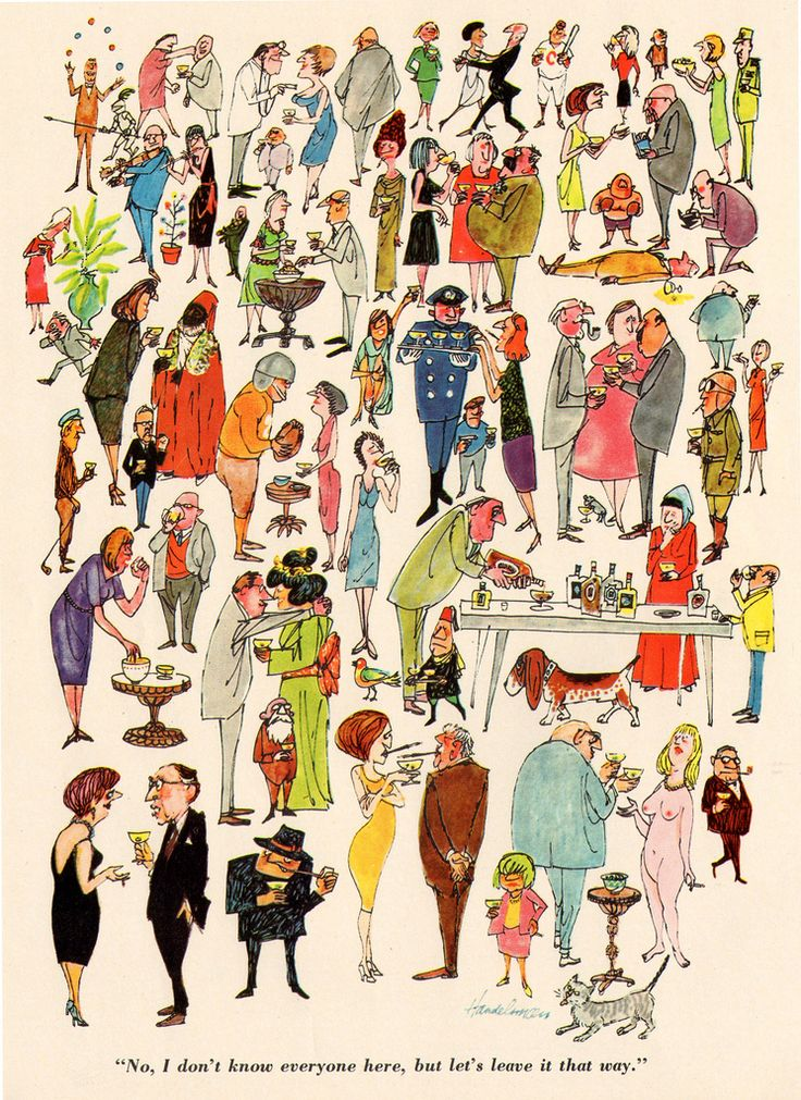 iiiinspired: let's leave it that way: Christmas Parties, Illustrations Art, Vintage Wardrobe, Posts, Pictures, Breakfast At Tiffany, Parties People, Cavalier Magazines, Dinners Parties