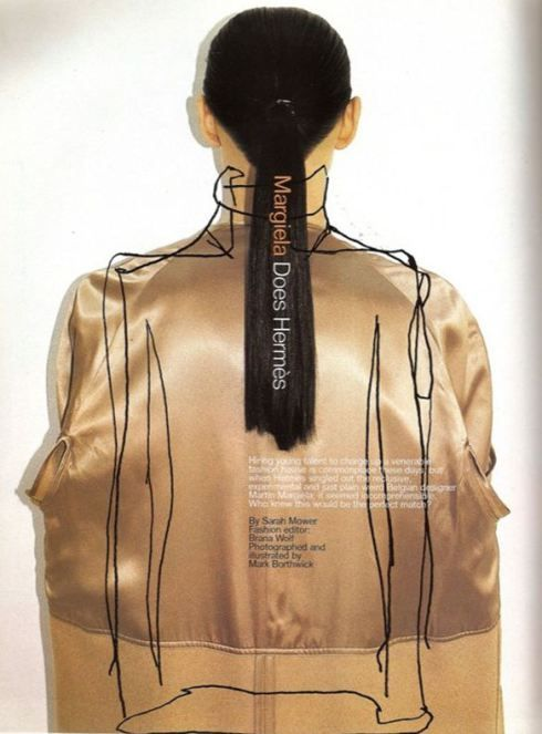 Margiela - Hermes / Mark Borthwick / Harper's Bazaar June 1998