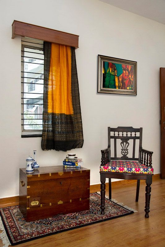 How To Reuse An Old Saree In 18 Different Ways. Indian Interior  DesignAntique FurnitureFurniture IdeasFurniture ...