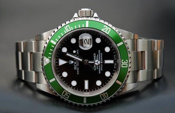 Rolex Submariner 50th anniversary edition.