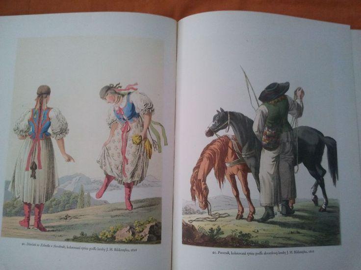 Left - Slovak girls, right - Slovak carer, 19th century.