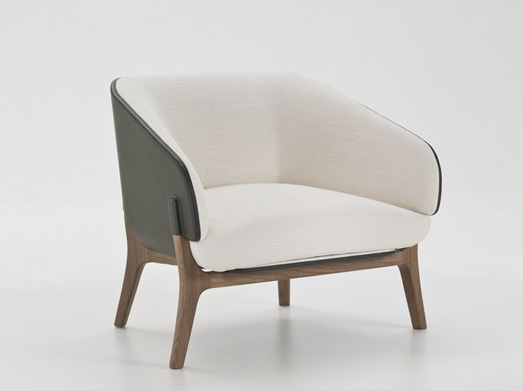Fabric armchair with armrests Savile Row Collection by i 4 Mariani | design Alessandro Dubini