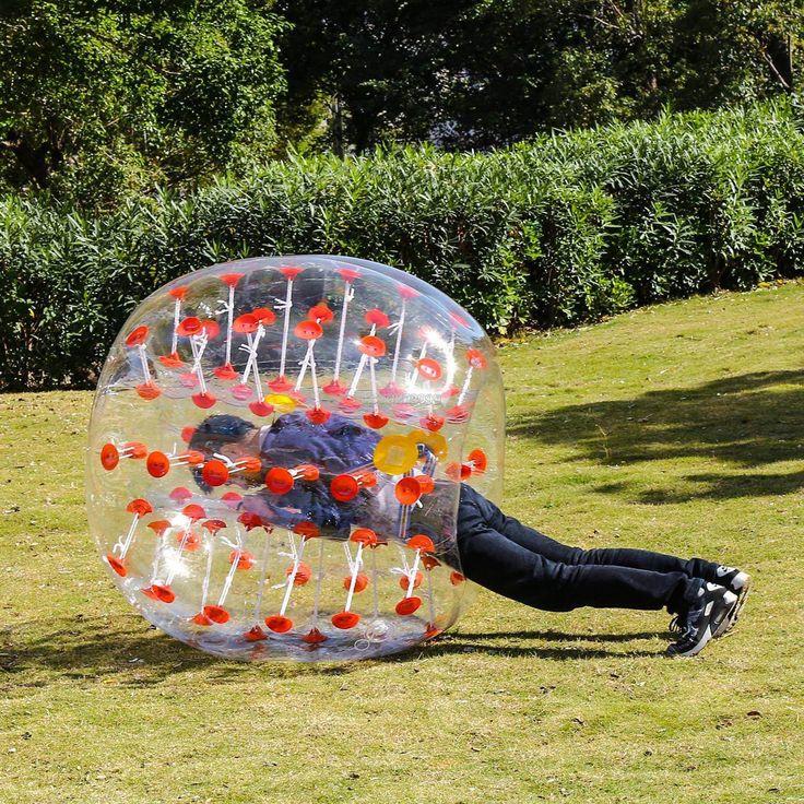 1.5M Inflatable Bumper Ball Human Knocker Ball Bubble Soccer Outdoor Sport Adult