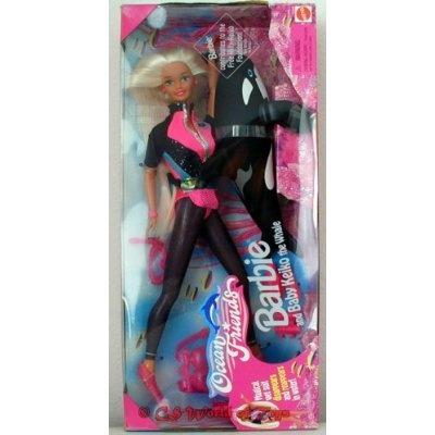Shamoo Barbie for her 2nd Sea World Birthday I had this!!!!!!