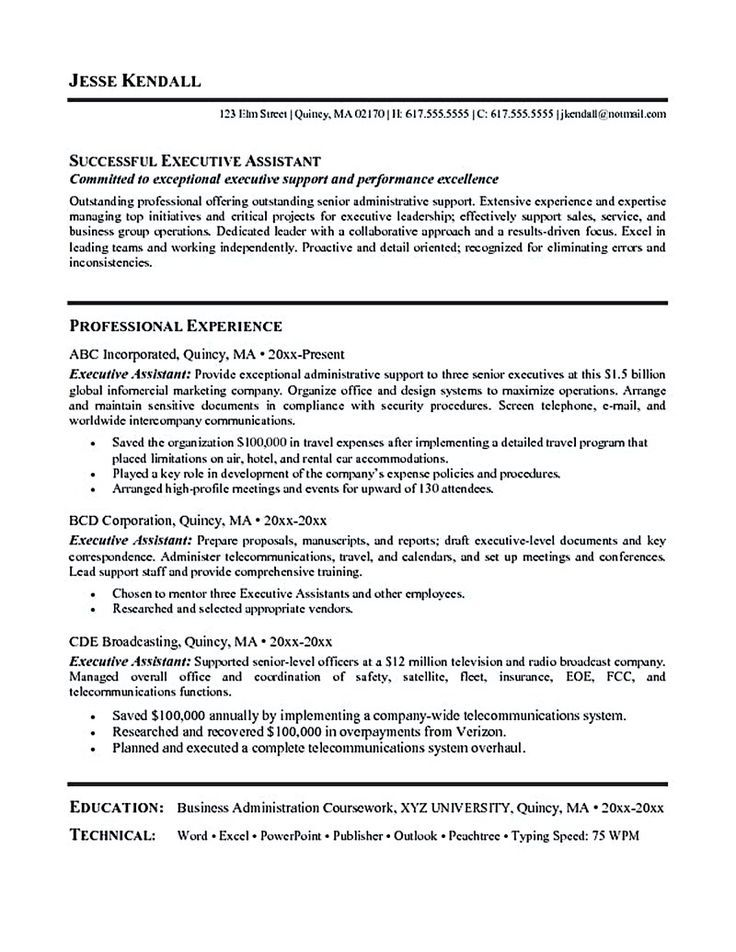 The 25+ best Sample objective for resume ideas on Pinterest - mba resume sample