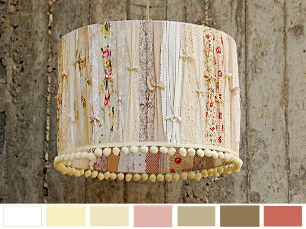 crambel sidra - Designer Lamp Shade. Decorative Home Lighting. $80.00, via Etsy.