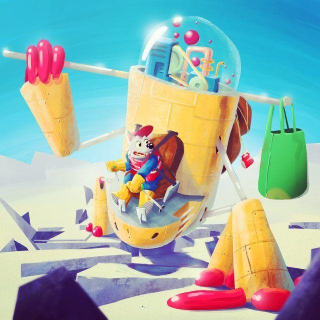 Shared by ruggerobrandi #spaceinvader #unas (o) http://ift.tt/24hCAqS !!!#robot  #robots #mywork #dog #dogs #draw #spazio #space # #alien #aliens #friend  #friends   #inavsorialieni #drawing #disegno #photooftheday #mywork #newwork mystyle #milan #milano #italian #italianillustrator #illustrazione #illustration #sketch #wacomtablet #cartoon #mywork #photoshop #photooftheday  #scifi #cyberpunk