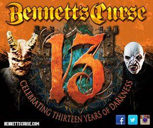 Bennett's Curse Haunted House opens Tonight- Friday the 13! http://bennettscurse.blogspot.com/2013/09/bennett-curse-opens-today-friday-13th.html